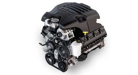 5.7L HEMI® V8 ENGINE WITH VARIABLE VALVE TIMING